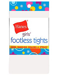 Hanes Girls' Footless Tights