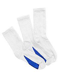 Hanes Women's X-Temp® Crew Socks 3-Pack
