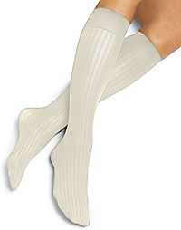 Hanes Ribbed Trouser Socks