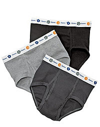 Hanes Boy's Toddler Dyed Briefs 5-Pack
