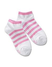 Hanes Classics Girls' Liner Socks 4-Pack