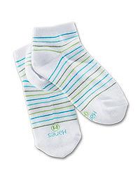 Hanes Classics Girls' Low-Cut EZ Sort® Socks 4-Pack
