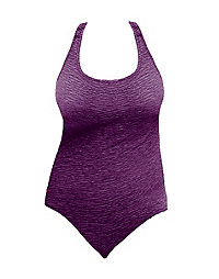Krinkle® Chlorine-Resistant Cross-Back One-Piece Swimsuit – Extended