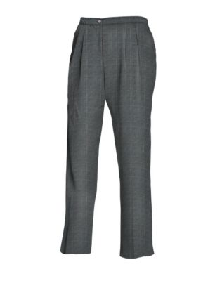 JMS Elastic Back Pleat Pants, Average
