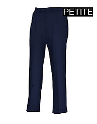 JMS Elastic Back Pleat Pants, Petite
