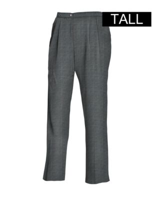 JMS Elastic Back Pleat Pants, Tall