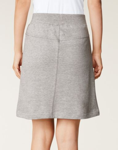 Women's Hanes Signature&reg French Terry Skirt