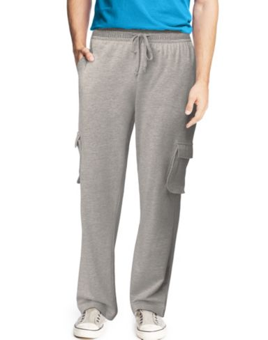 Hanes Signature® Men's French Terry Cargo Pants