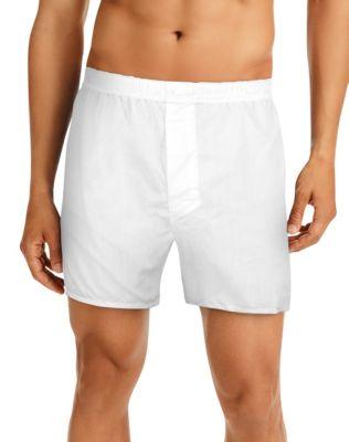 Hanes TAGLESS® Men's Full-Cut Boxers 4-Pack