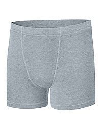Boys' Hanes Ultimate Dyed Boxer Brief with ComfortSoft® Waistband Assorted Black & Grey 4-Pack