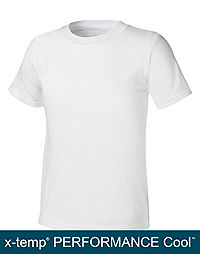 Hanes Boys' Ultimate X-TEMP® TAGLESS® White Crew 4-Pack