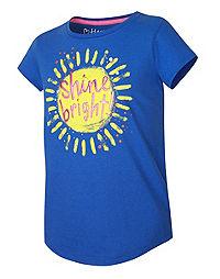 Hanes Girls' Shine Bright Tee