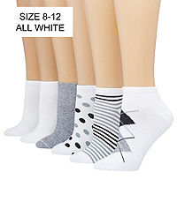 Hanes ComfortBlend® Women's Low-Cut Socks Assorted 6-Pack