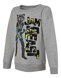 Hanes EcoSmart® Boys' Jam Beast Crewneck Sweatshirt