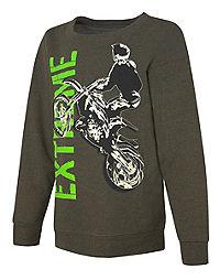 Hanes EcoSmart&reg ; Boys' Epic 98 Crewneck Sweatshirt
