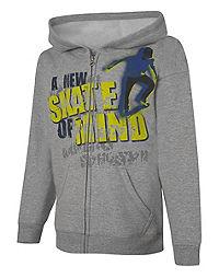 Hanes EcoSmart&reg ; Skate of Mind Full-Zip Hoodie Sweatshirt