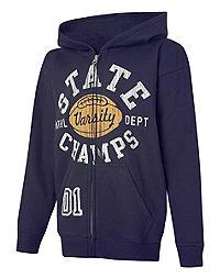 Hanes EcoSmart&reg ; State Champs Full-Zip Hoodie Sweatshirt