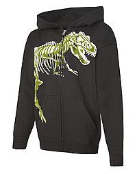 Hanes EcoSmart&reg ; Dino Full-Zip Hoodie Sweatshirt