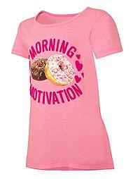 Hanes Girls'  Morning Motivation Peplum Tee