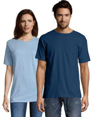 Hanes Pocket T-Shirt