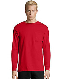 Men's Long Sleeve T-Shirts | Hanes