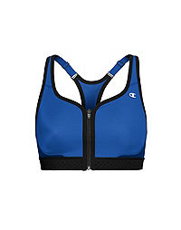 Champion The Absolute Zip Sports Bra