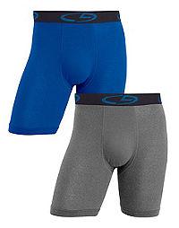 C9 Champion® Men's Performance Stretch Long Leg Boxer Brief 2-Pack
