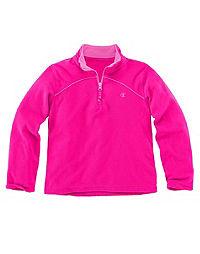 Champion Girls' 1/4 Zip Micro Fleece Pullover
