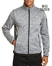 Champion Men's Big Active Knit Soft Shell Jacket