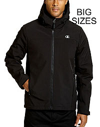 Champion Men's Big Softshell Jacket With Quilted Synthetic Down