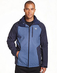 Champion Men's Big Technical Ripstop 3 in 1 Jacket With Sweater Fleece Liner