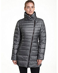 Champion Women's 3/4 Asymmetrical Zip Front Jacket