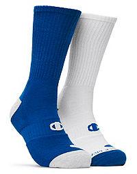 Champion Men's Basketball Crew Socks 2-Pack