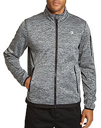 Champion Men's Active Knit Soft Shell Jacket
