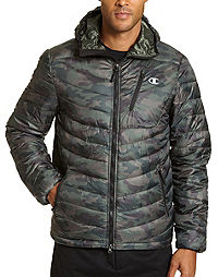 Champion Men's Packable Performance Jacket With Reactive Fill