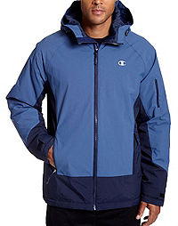 Champion Men's Technical Ripstop Ski Jacket with Synthetic Down