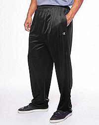 Champion Men's Big & Tall Performance Open Bottom Pant