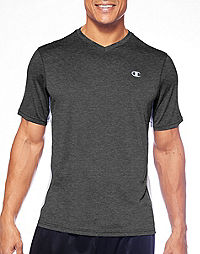 Champion Vapor® Big & Tall Performance Heather V-Neck Tee