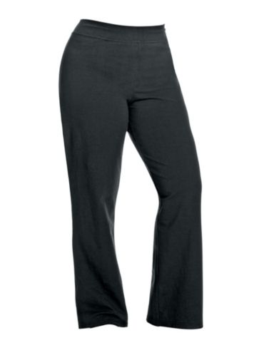 Champion Stretch-Cotton Semi-Fitted Women's Plus Boot-Cut Pants