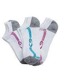 C9 Girls' No Show Liner Socks 3-Pack