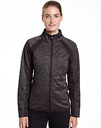 Champion Women's Plus Bonded Sport Knit Soft Shell Jacket