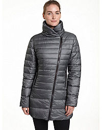 Champion Women's Plus 3/4 Asymmetrical Zip Front Jacket