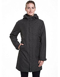 Champion Women's Plus Technical 3 in 1 Jacket With Synthetic Down