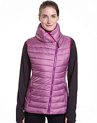 Champion Women's Plus Asymmetrical Zip Front Vest