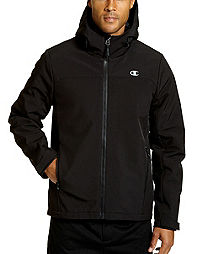 Champion Men's Softshell Jacket With Quilted Synthetic Down