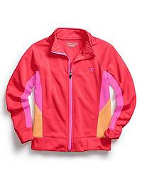 Champion Girls' Colorblock Full-Zip Jacket