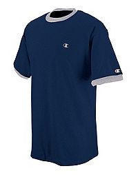 Champion Cotton Jersey Men's Ringer T Shirt