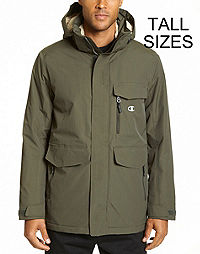 Champion Men's Tall High Performance  2-Layer Jacket With Sherpa Lining