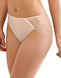Bali Lace Desire® Microfiber Hi-Cut Brief