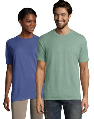 Hanes ComfortWash™ Garment Dyed Adult Short Sleeve Tee